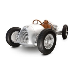 This beautiful, strictly limited edition Audi Auto Union Scale Replica Pedal Car is crafted from over 900 components and even has leather upholstery.