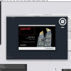 Finally the first beta of Autocad for Mac is out! For now enjoy this series of screen shots.