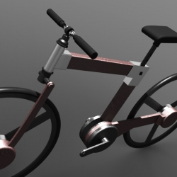 Avtomat Hydro-Static: AK-47-inspired concept bike from Bryan Walsh.