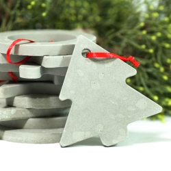 Babbo©, Concrete Christmas Decoration by PASTINA™