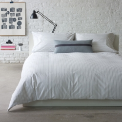 Liking the clean new Porter line of linens from Unison Home!