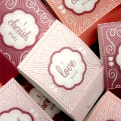 DIY love coupon matchbooks from Benign Objects. A sweet (and easy) way to show someone you like them a whole, whole lot.