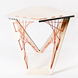 Puntada Coffee Table by Agustina Bottoni
