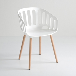 Basket Chair! The new chairs family designed by Alessandro Busana for Gaber.