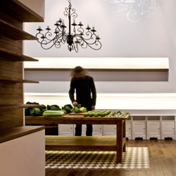 IKEA HACK! High-end Russian delicatessen produced on the tightest of budgets by London architecture practice Alma-nac