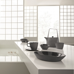 Koi is the new table architecture collection from Ritzenhoff. We love it´s beautiful asian inspired shape.