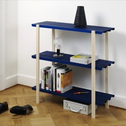 Floors shelf system. A simple, self assembled, shelving system by BIG-GAME
