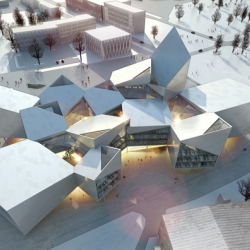 Copenhagen architects BIG has won an International Competition to design Tallinn's new City Hall.