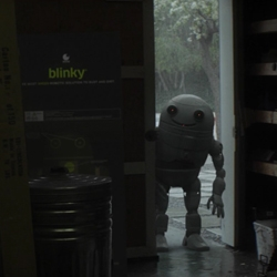 'Blinky' is the amazing new short film written and directed by Ruairi Robinson, starring Max Records from 'Where The Wild Things Are'.
