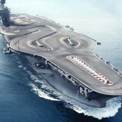 BMW M4 Ultimate Racetrack - The BMW M4 Coupé tackles uncharted territory. This time, on an aircraft carrier.
