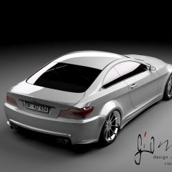 2021 BMW M6 concept rendering