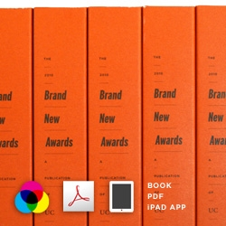The winners of the 2010 Brand New Awards, celebrating the best logos and identity work of the year, are published in a 252-page book (and PDF) and an iPad app.