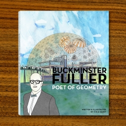 A full color book about the life and work of one of the greatest minds of our times, Buckminster Fuller.