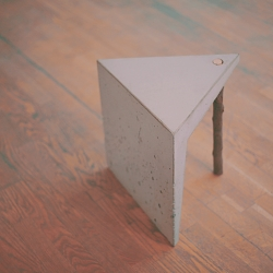 Concrete Stool by Studio-Nomad.