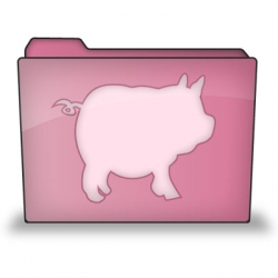 Super-cute new icon for the Bacondrop application on OSX!