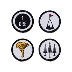 Scandinavian lifestyle brand The Creatørs Club showcases their affinity for all things nostalgic and minimalist with their Sjø & Land badges. These badges are embroidered with high-quality materials and designed for the explorers of the world.