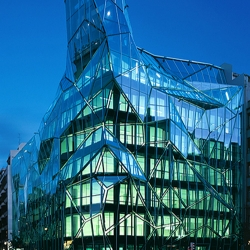 Basque Health Department HQ was designed by Coll-Barreu Arquitectos located in Bilbao, Spain