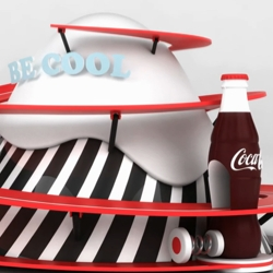 Great video made by Jerome Masi & Gaetan Boutet for the Coca Cola 3D contest.