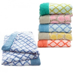 Refreshingly pretty beach towels from Roberta Roller Rabbit