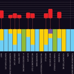 An open collaborative project exploring the music of the Beatles with infographics.