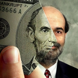 Now that the US dollar's virtually worthless, what to do with them? Simple--turn them into playthings by holding a photo contest, using various currencies overlaid with actual photos.
