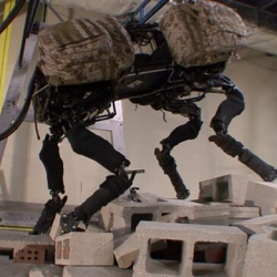 Boston Dynamics make robots that run, climb and swim just like animals. It's unnerving.