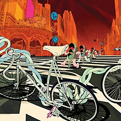 ilovedust have released their stunning Bike Series of prints at ClickforArt.com. Even available as 2m x 1m canvases.