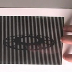Animated optical illusion - fascinating handmade gifs!