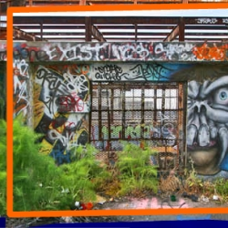 Graffiti Archaeology is a project devoted to the study of graffiti-covered walls as they change over time.