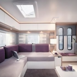 DESEO LIFESTYLE is a new and very beautiful caravan from EIFELLAND - a german caravan company.