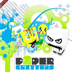 Paper Critters . The online customizable super flashy paper toy creator - do it!