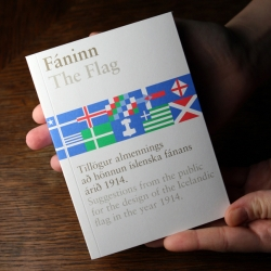 In 1913 Iceland wanted a new flag design and opened up to suggestions from the public. The 28 designs submitted have since been put in a book, illustrated and shown together!