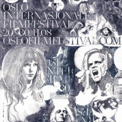 Halvor Bodin has made the amazing poster and graphical work for Oslo International festival. I love it!