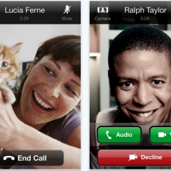 Skype for iOS (iPhone, iPod touch, iPad) now with video calls. All you need is WiFi or 3G.
