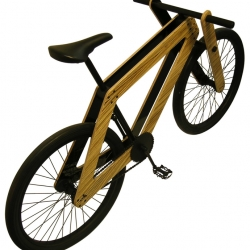 Cool bicycles made after the IKEA model. You put it together with three screws. Made by Bleijh Concepts and Design