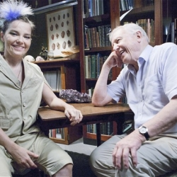 When Björk Met Attenborough is a UK documentary featuring singer Bjork and broadccaster and naturalist Sir David Attenborough explore the relationship between music, technology and the natural world.