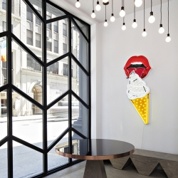 Designer Rafael de Cardenas converts an old NYC firehouse into the swank headquarters of Black Ocean.