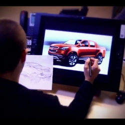 Making of the General Motors Holden Colorado Concept launched at the 2011 Australian Motorshow