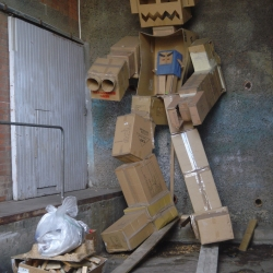 Robot found in Christchurch...