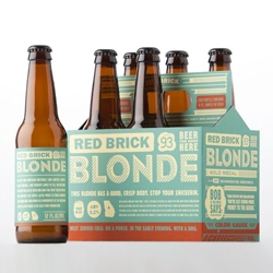 Advertising/Design agency 22squared redesigns the entire family of Atlanta Brewing Company beers (Red Brick Beers). Clean. Fun. Simple.