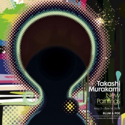 The works of Takashi Murakami will be back in LA from May 3rd to June 14th presented in a rare solo show at Blum & Poe.