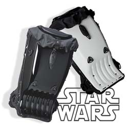 These cool, strictly limited hard shell bags from Boblbe come in Darth Vader and Storm Trooper themed styles and are a must for any true, discerning Star Wars fan.