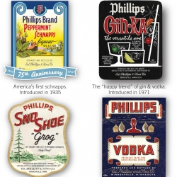 The Phillips family approaches their 100th anniversary in 2012. To celebrate, they will be reissuing some of their classic brands as they first appeared in their original, collective packages –the Bonafide Originals.