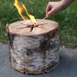 Light n' Go Bonfire Log!