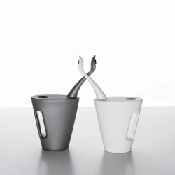 These watering cans by Bo-tanica will enhance your concentration during those long, tense gardening sessions.