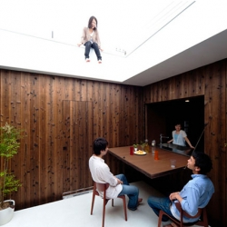 The Boundary House: A maze-like house that blurs the boundaries of interior and exterior.