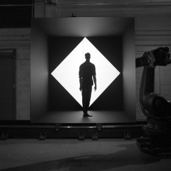 A behind the scenes look at Box, Bot & Dolly's short film which documents a first-ever live synchronized performance using 3D projection mapping, robots, and actors.