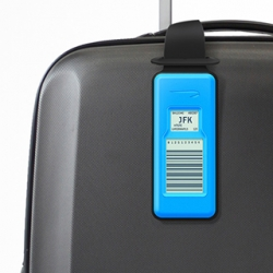 Designworks and British Airways create first Electronic Luggage Tag. Travelers will be able to track the location of their luggage starting next month.