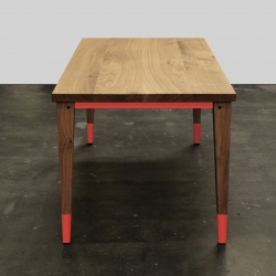 Bullenberg´s dining table ARX, made from solid oak in Germany
