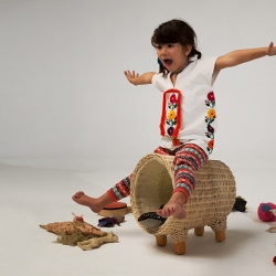 'Traven' furniture & play family for kids, by Christian Vivanco.